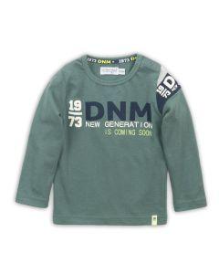 Dirkje baby t-shirt lange mouwen dusty groen