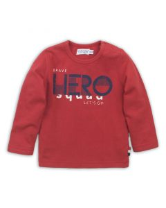 Dirkje baby t-shirt lange mouwen rood