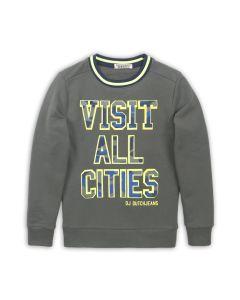 DJ Dutchjeans sweater leger groen