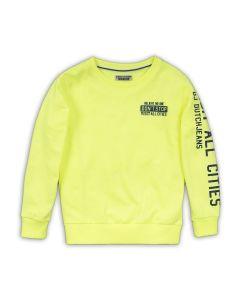 DJ Dutchjeans sweater neon geel