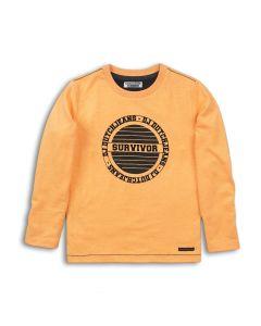DJ Dutchjeans t-shirt fel oranje