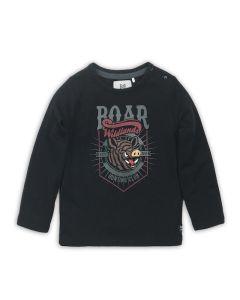 Koko Noko t-shirt lange mouwen Black