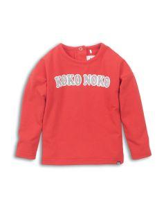 Koko Noko t-shirt lange mouwen Red