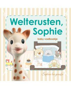 Sophie de giraf baby voelboekje: Welterusten, Sophie. Voorkant